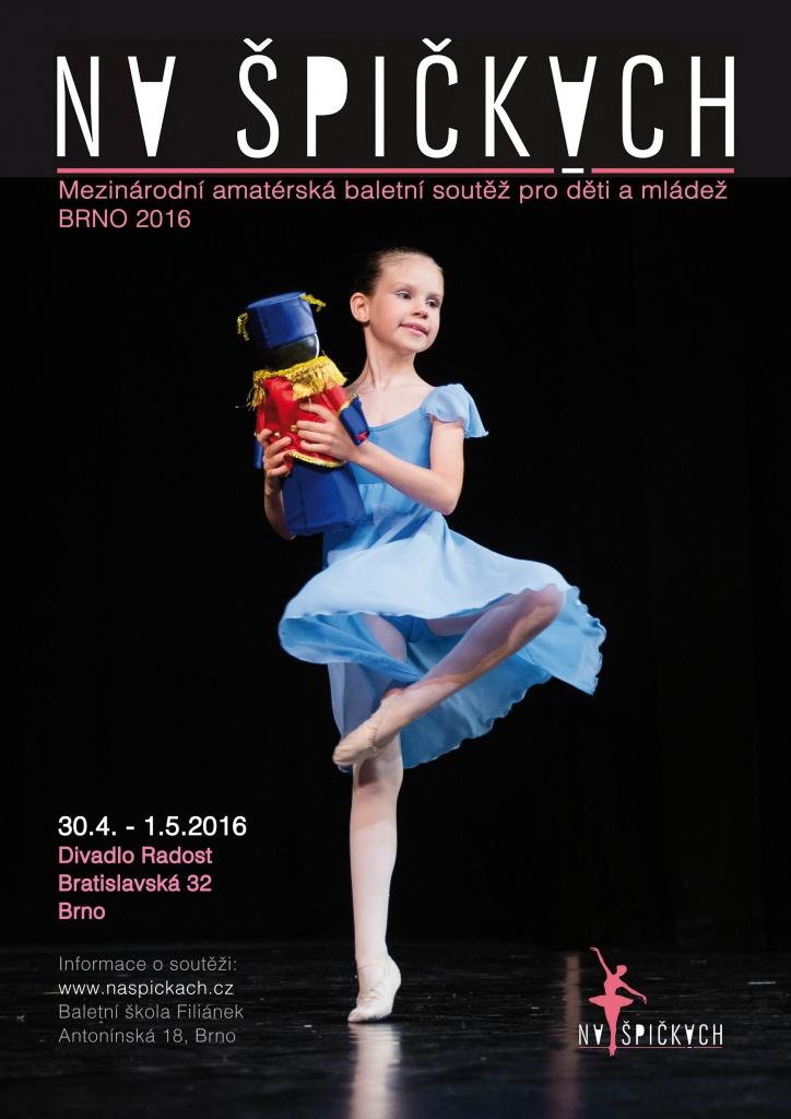 2. roční baletní soutěžě Na špičkách
