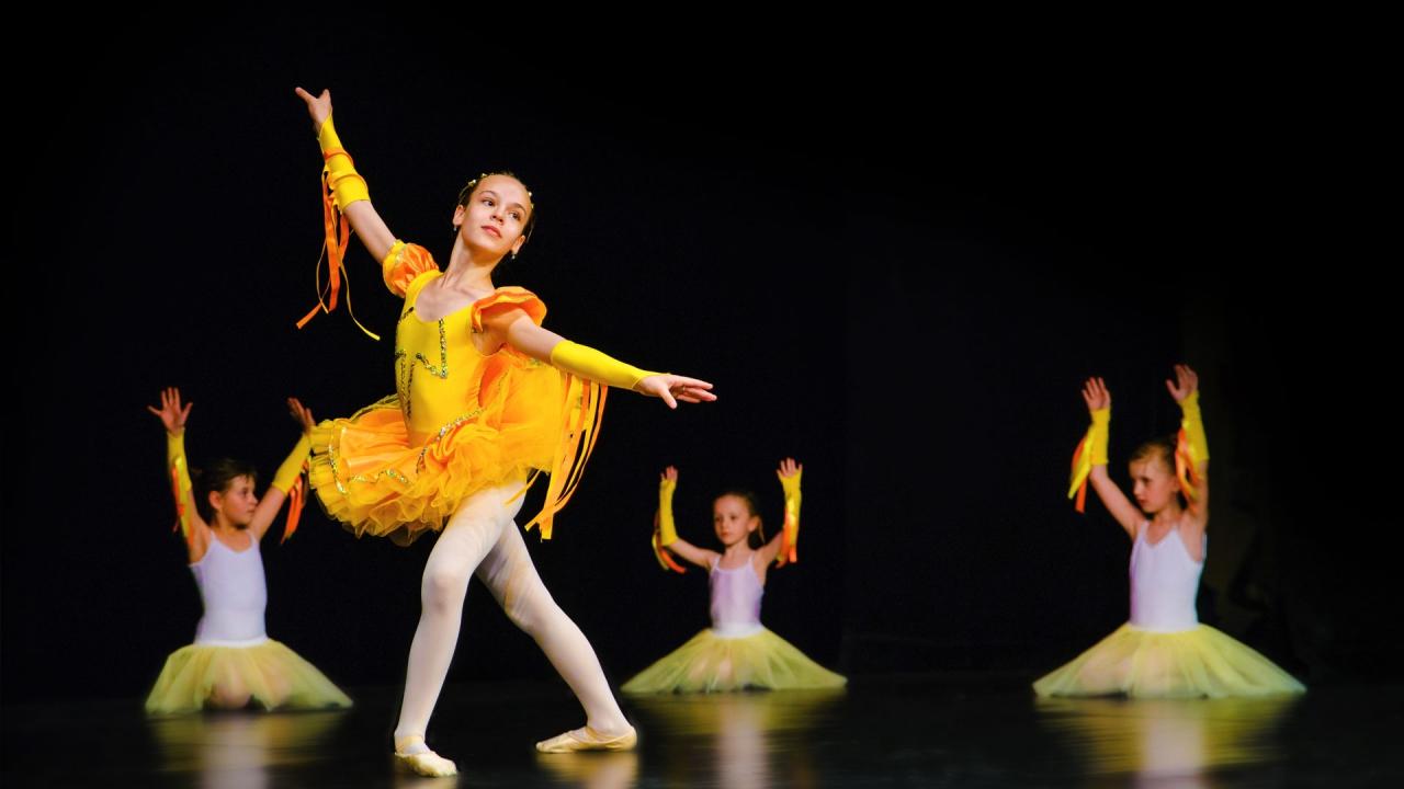 Balet pro děti Filiánek
